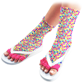 Super Deluxe Pedicure Socks